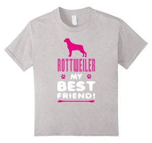 Best Friend Animal Gift Dog Casual Cotton Women T-Shirt - Marianade'Dick,topfitnessproducts,raceofchampions