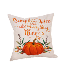 Load image into Gallery viewer, Happy Thanksgiving Pillow Cases  Linen Sofa Cushion Cover Home Decor - Marianade'Dick,topfitnessproducts,raceofchampions