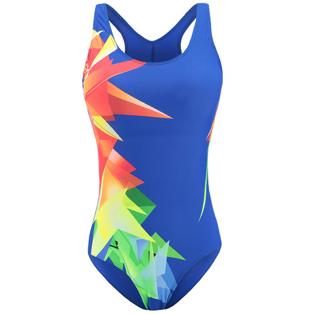 Riseado New Swimwear Women  One Piece Swimsuit Female Sport Competition Swimming Suits for Women Bathing Suits - Marianade'Dick,topfitnessproducts,raceofchampions
