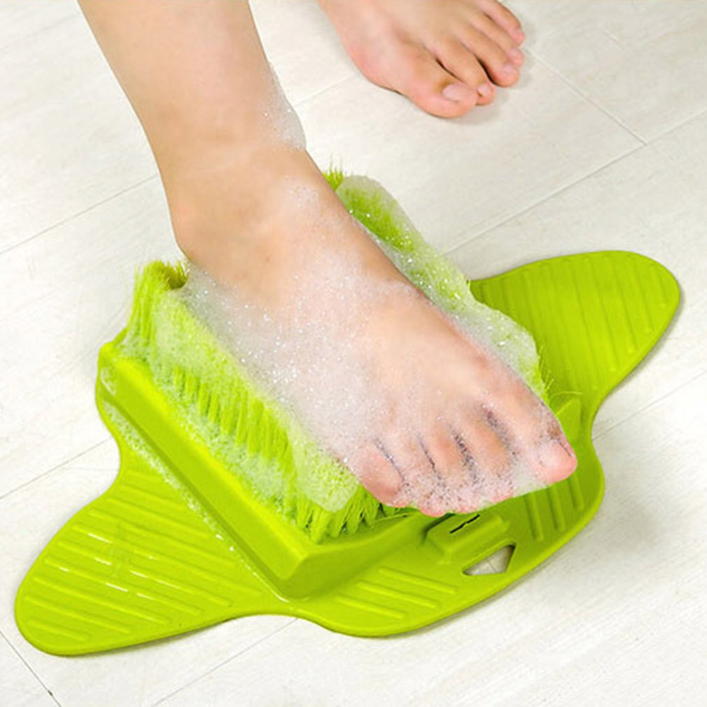 Foot Massage Brush Relax Relief Scrub Massager Spa Shower Feet Care Exfoliating Remove Dead Skin Cleaning Scrubber Bathroom - Marianade'Dick,topfitnessproducts,raceofchampions