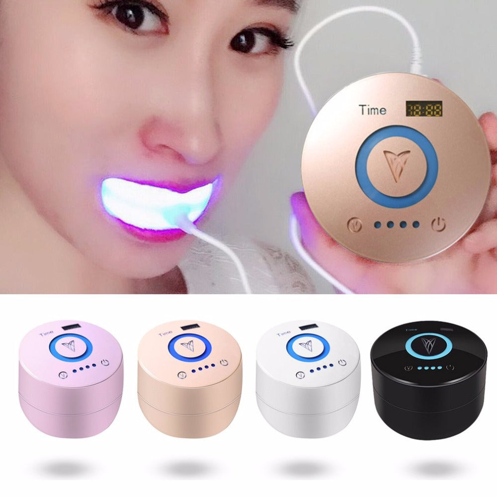 Clod Blue Light Teeth Whitening Machine Home Use Oral Cleaning Tool Dental Equipment Portable Teeth Smoke Stains Remover - Marianade'Dick,topfitnessproducts,raceofchampions