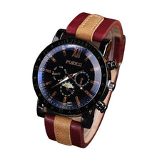 Load image into Gallery viewer, Best selling Luxury Men's Watches Analog Quartz Faux Leather Sport Wrist Dress Watch saat relogio kol saati horloge relojes - Marianade'Dick,topfitnessproducts,raceofchampions
