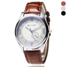 Load image into Gallery viewer, Best selling Men Leather Band Watches Sport Analog Quartz Date Wrist Watch saat relogio kol saati horloge relojes Uhren Reloj - Marianade'Dick,topfitnessproducts,raceofchampions