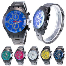 Load image into Gallery viewer, Best selling Fashion Men Motion Form Stainless Steel Sport Quartz Hour Wrist Analog Watch saat relogio kol saati horloge relojes - Marianade'Dick,topfitnessproducts,raceofchampions