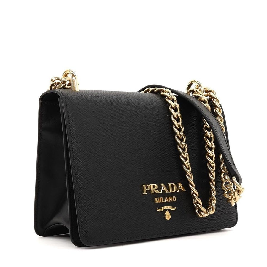 c548287f3dab PRADA Black Saffiano Cross Body Bag – designer outlet ldn