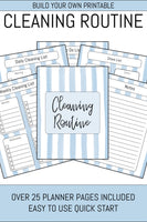 Clean Home Planner (28 Pages)