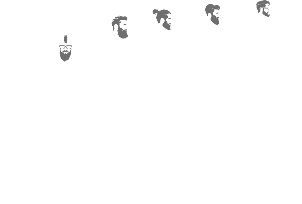 Grievous Bodily Hair White Logo