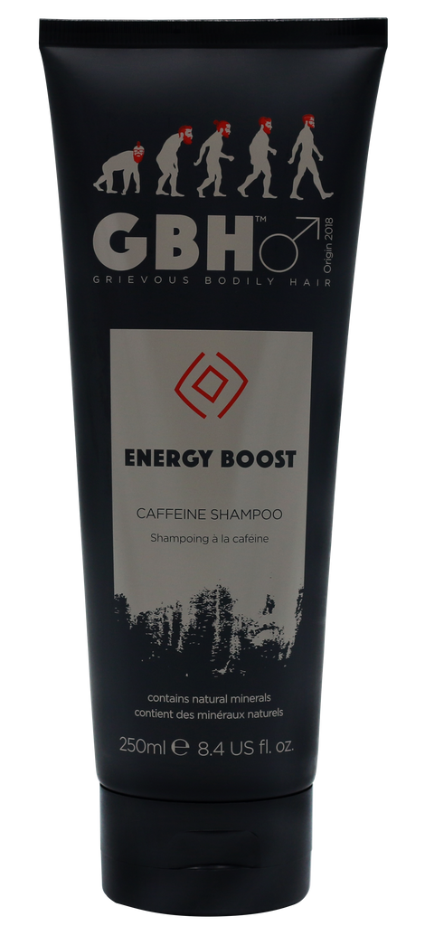 Grievous Bodily Hair Energy Boost Caffeine Thickening Shampoo for Men
