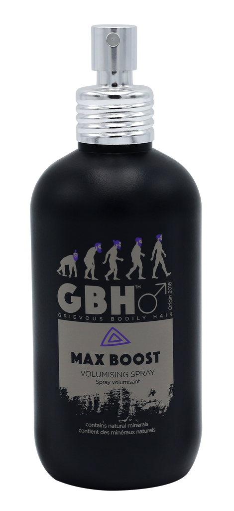 Grievous Bodily Hair Amplifying Max Root Boost Spray for Men