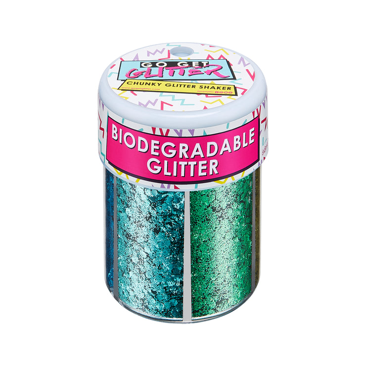 Biodegradable Face & Body Glitter Shaker