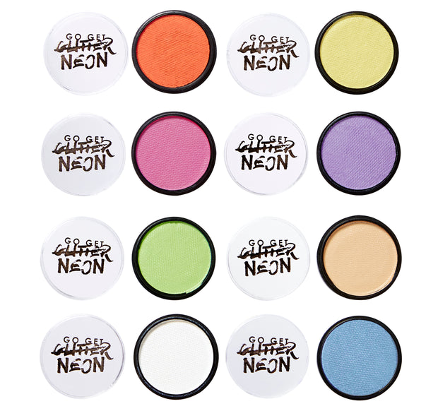 Pastel Water Based Face Paints Set