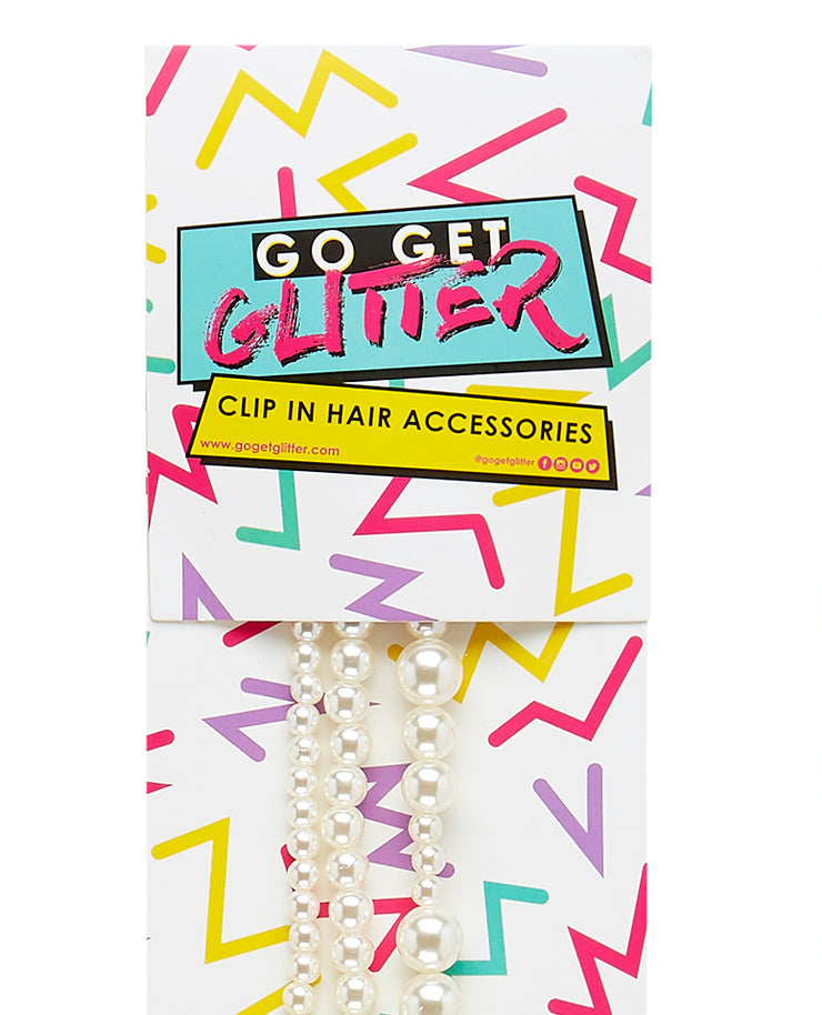 Pearl Clip In Hair Accessory Pack
