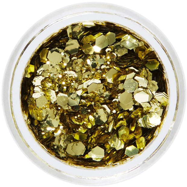 Gold Biodegradable Face & Body Chunky Glitter - Golden