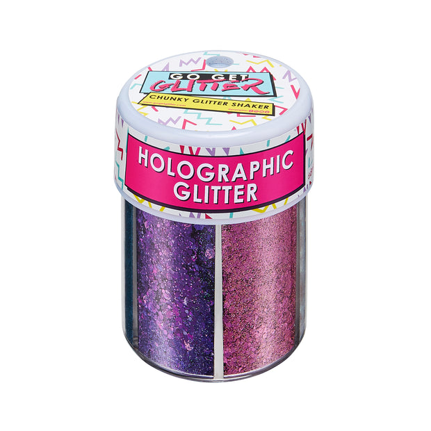Holographic Face & Body Glitter Shaker