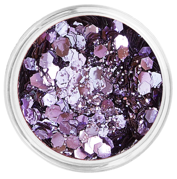 Purple Biodegradable Face & Body Chunky Glitter - Lavender