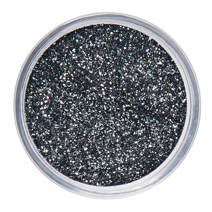 Grey Cosmetic Face & Body Fine Glitter MakeUp - Silver Lining