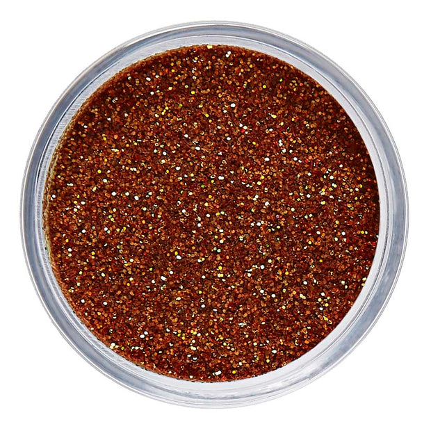 Copper Cosmetic Face & Body Fine Glitter MakeUp - Amber Light