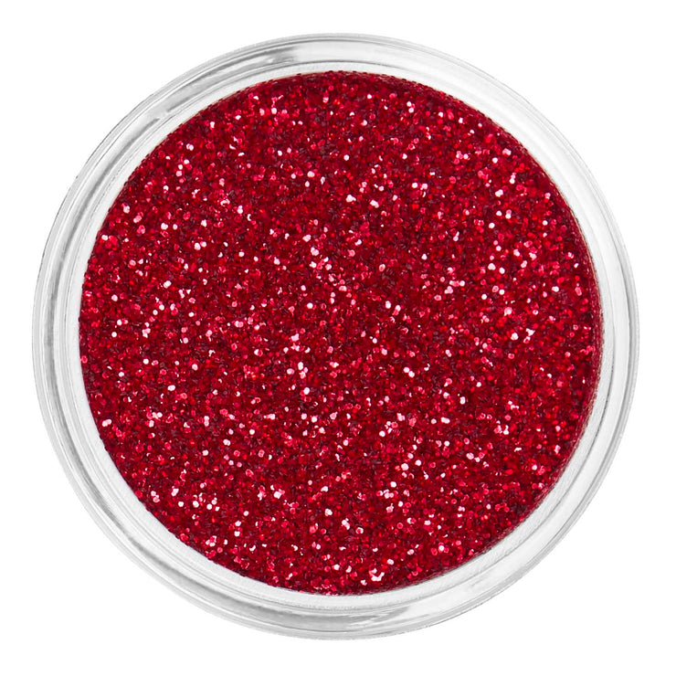 Red Cosmetic Face & Body Fine Glitter MakeUp - Red Velvet