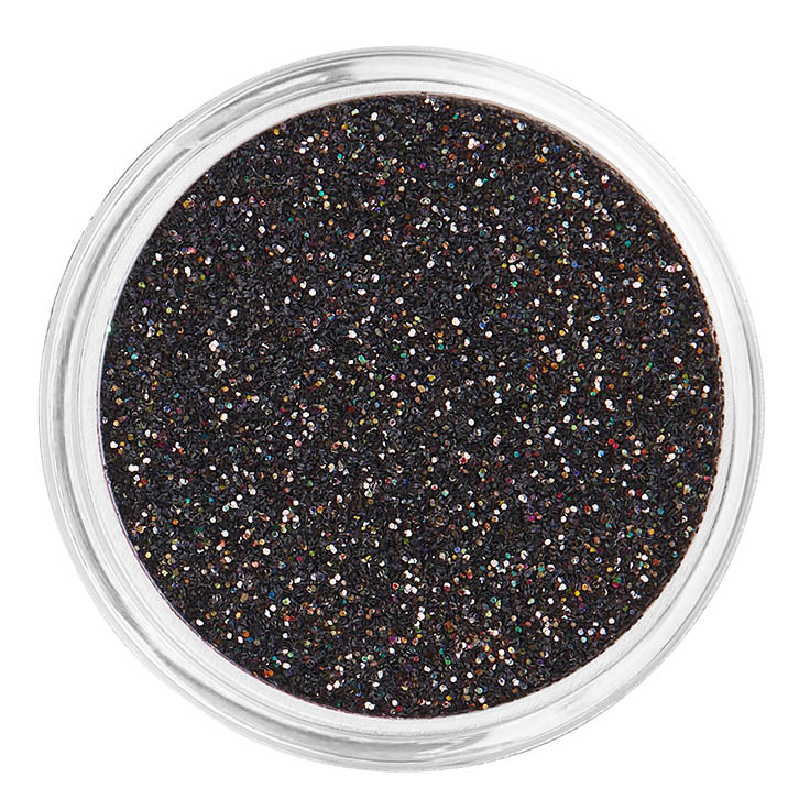 Black Cosmetic Face & Body Fine Glitter MakeUp - Spaced Out