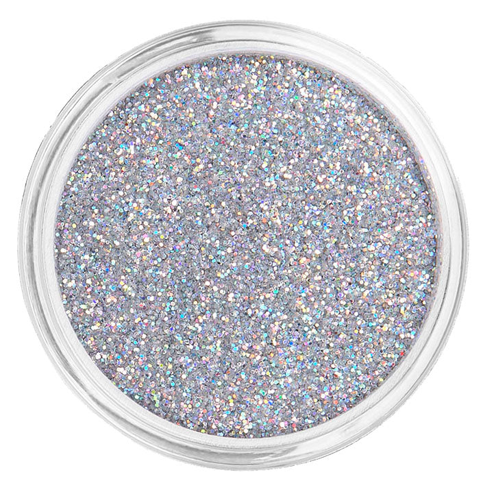 Silver Cosmetic Face & Body Fine Glitter MakeUp - Sterling