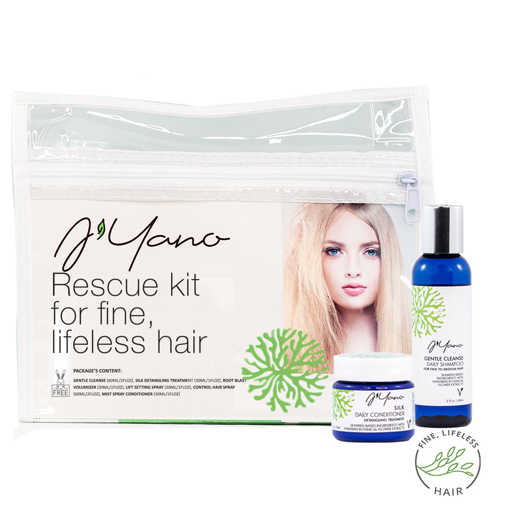 Rescue kit for Fine, Lifeless Hair