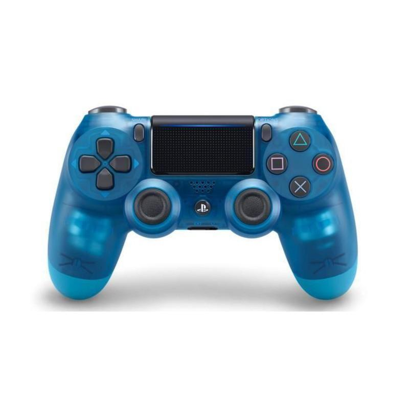 Manette PS4 Dual Shock 4 Bleu Crystal V2