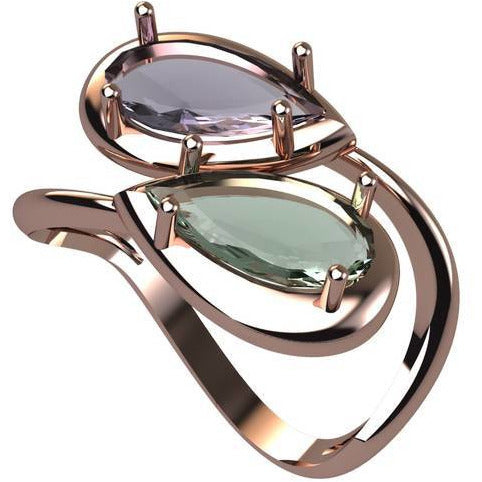 RIVIERA Statement Ring
