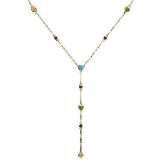 PRISMA Tie Necklace
