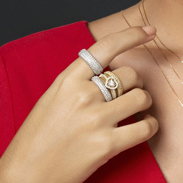 INFINITY Diamond Band Ring