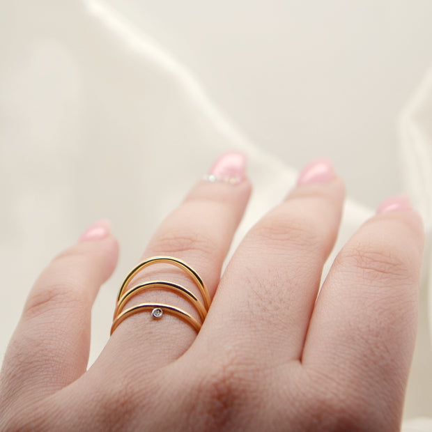 GISELL Trio Ring