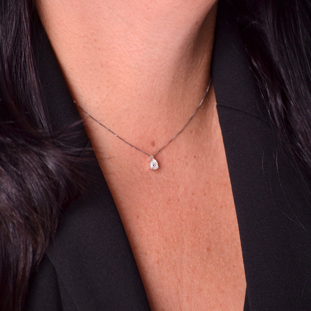 DIANA Diamond Drop Necklace