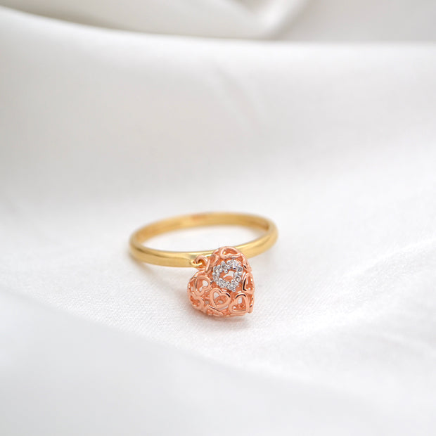 AMORE Charm Ring