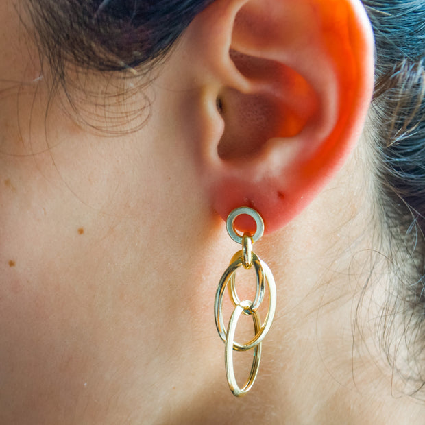 JENN Gold Earrings