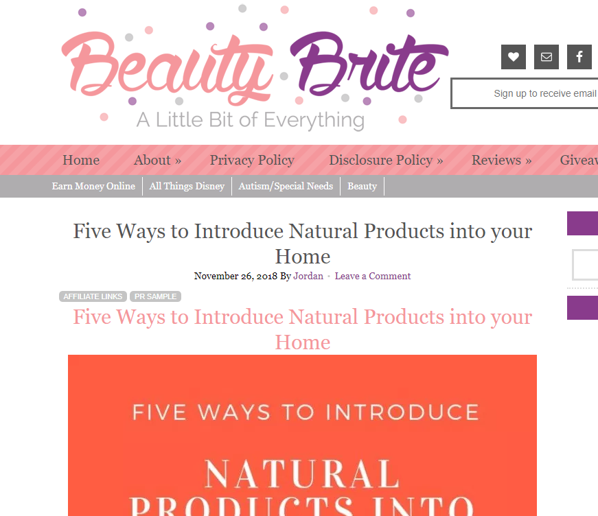 Featured On Beauty Brite