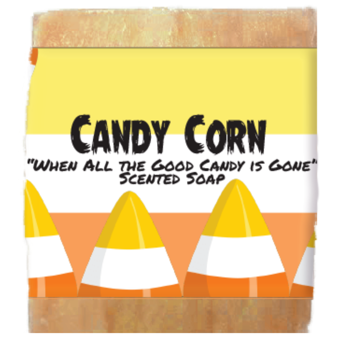 Halloween Candy Corn Scented Soap Bar