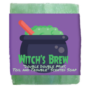 Halloween Witch's Brew Scented Soap Bar
