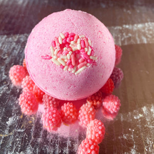 Stupid Cupid Raspberry Bath Bomb