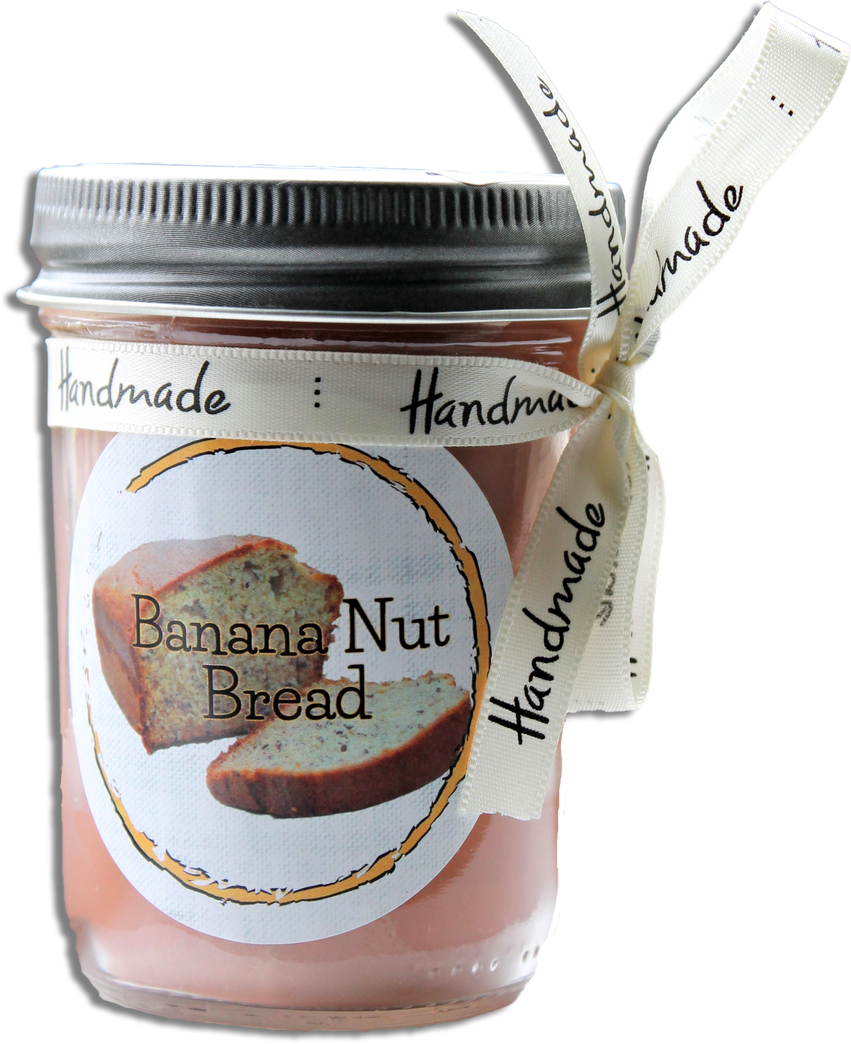 Banana Nut Bread Jar Candle