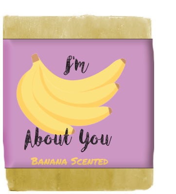 I'm Bananas About You Soap