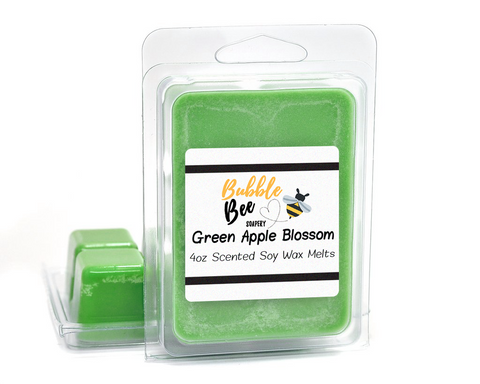Green Apple Blossom Wax Melts