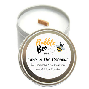 Lime in the Coconut Scented Tin Candle
