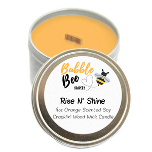 Rise N' Shine Tin Candle