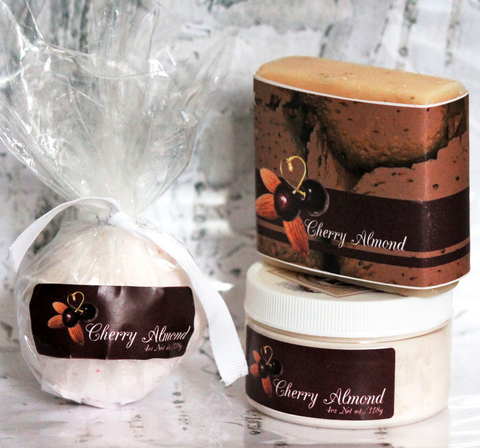 Cherry Almond Bathset