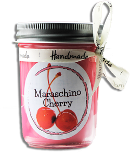 Maraschino Cherry Jar Candle