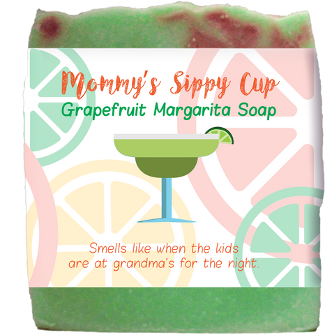 Mommy's Sippy Cup Grapefruit Margarita Soap