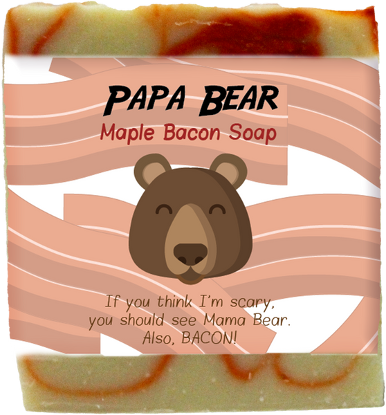 Papa Bear Maple Bacon Soap