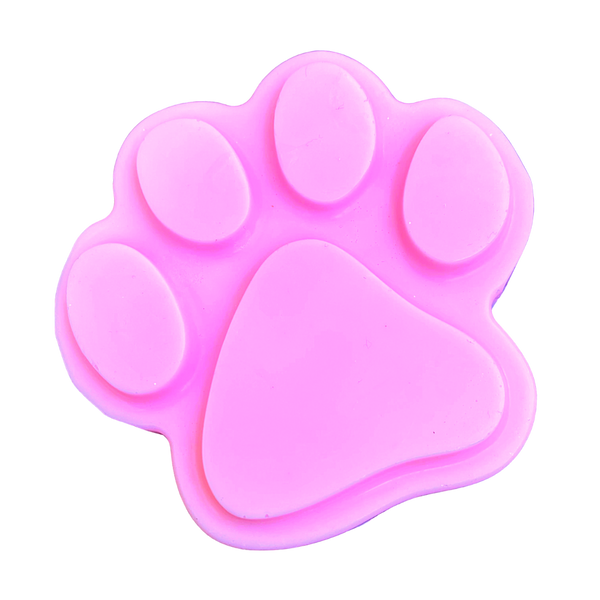Paw Print Soap Bar- Choose Your Own Color