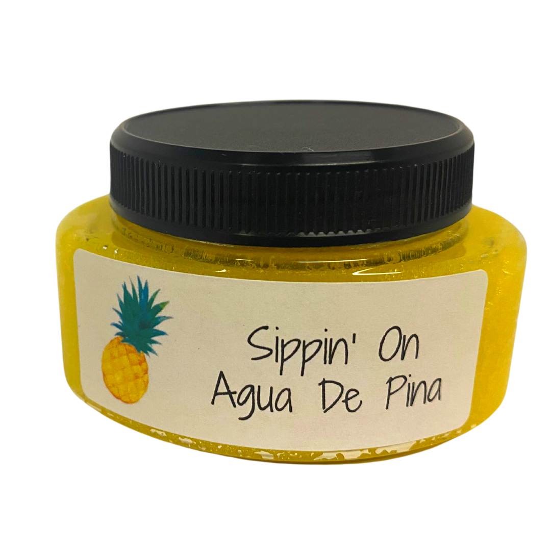 Sippin' On Auga De Pina Foaming Sugar Scrub