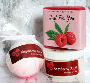 Raspberry Bathset