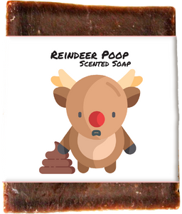 Reindeer Poop Winter Holiday Soap